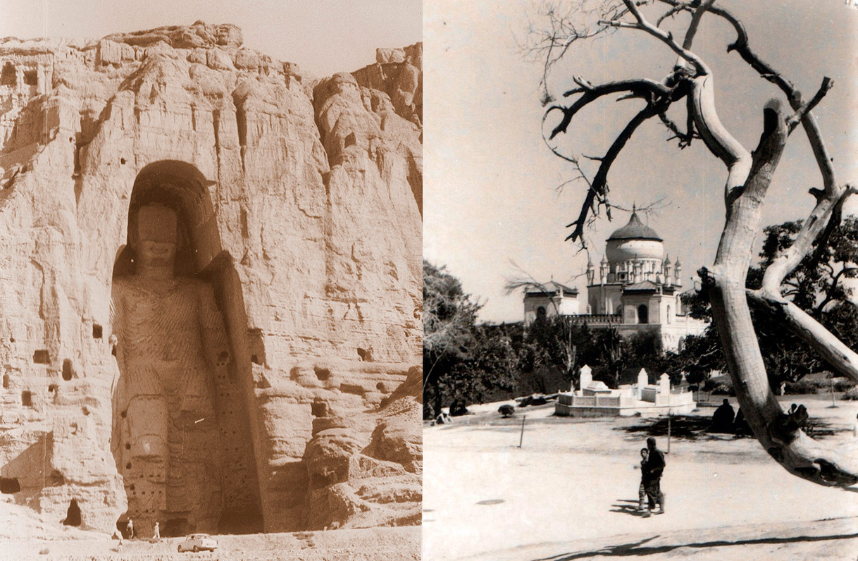 bamyan buddha and kabul