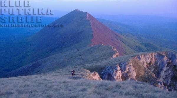 trem, suva planina