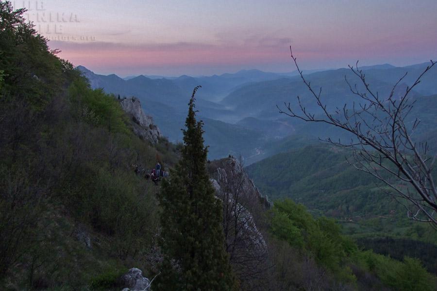 vlaška planina u zoru