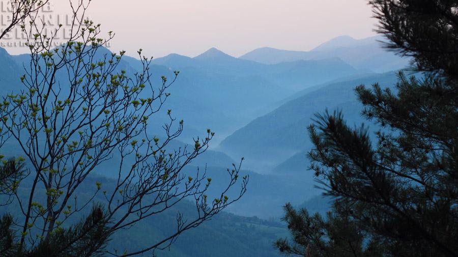 planina u zoru