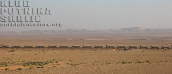 desert train in Palmyra