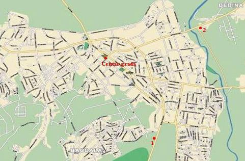 mapa krusevac Autostop Kruševac mapa krusevac