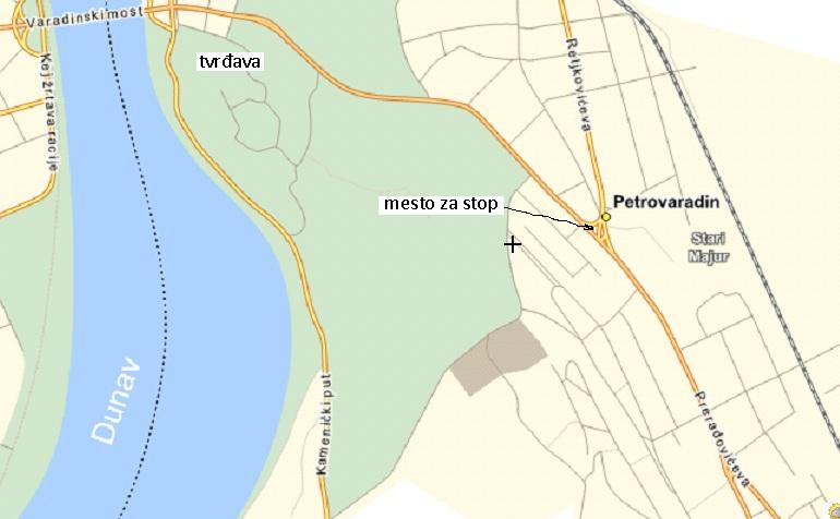 Autostop Petrovaradin